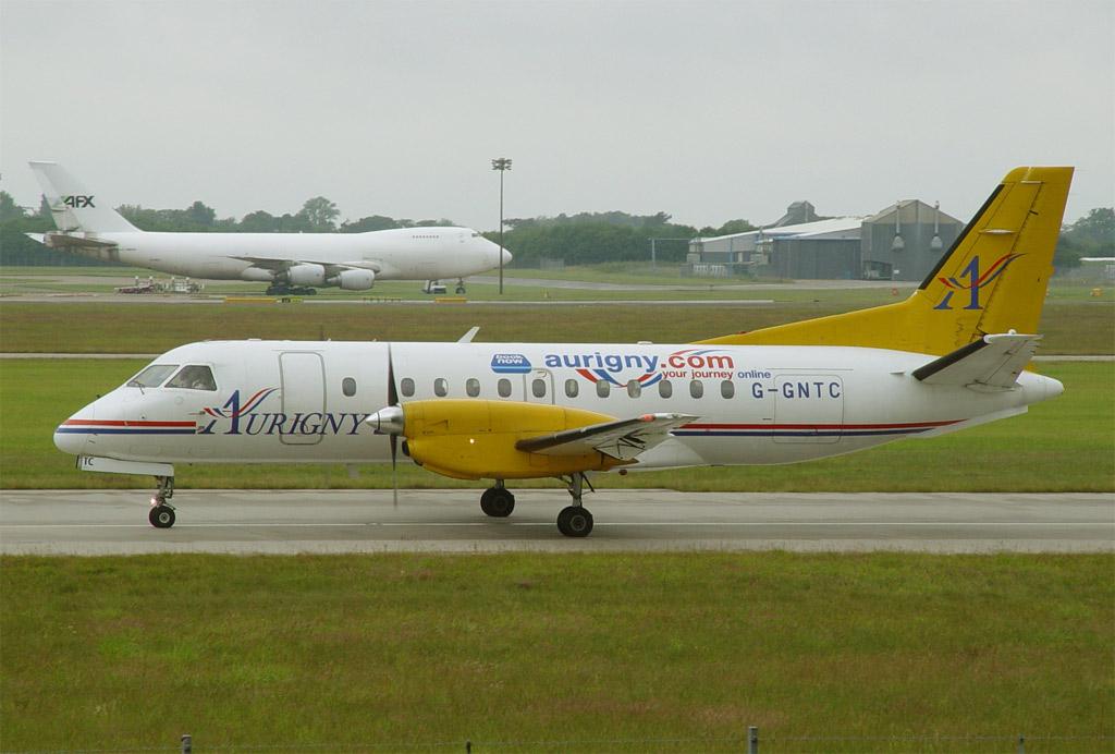 Un pilote de la British Air lines signale un énorme ovni Gr340