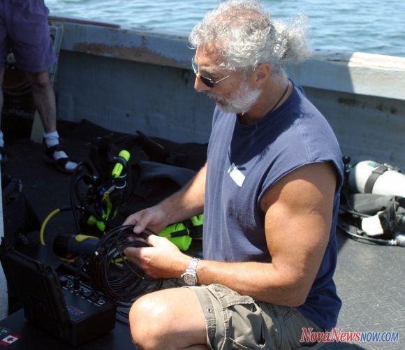 Exploration sous marine sur le site du crash d'ovni Ufo1
