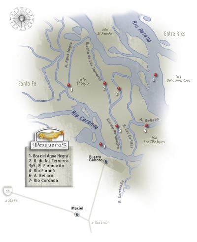 Localisation de Puerto Gaboto