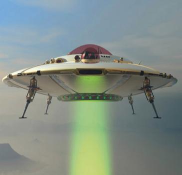 Ovni qui émet un rayon signalé en Russie Ufo18