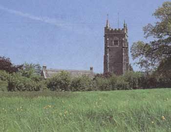Honiton, Grande Bretagne, point chaud pour les ovnis Broadhemburychurch