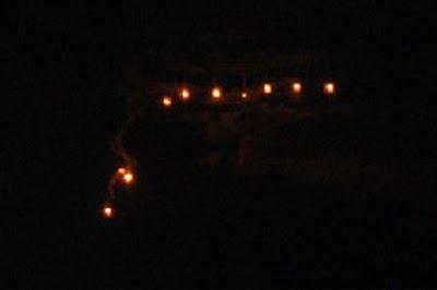 Des lumières de Phoenix » a dessus de Destin, Floride Fwrfjn