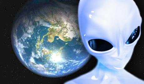 extraterrestre dans l'univers