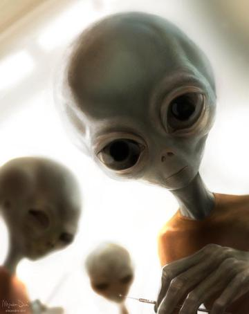 Rencontre avec un humanoïde en Russie (RR3) Alien-3