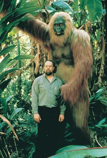 Gigantopithecus reconstitution
