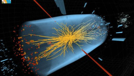 Une collision de protons© Photo CERN