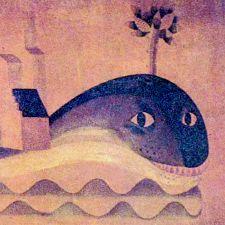 la baleine hilare du café Lyon