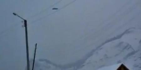 Une des trois photos prises par une étudiante d'Abaza (Khakassie)  [Capture d'écran YouTube]