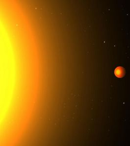 Kepler 78b : vue d'artiste de l'exoplanète. Source :gentside