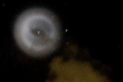 Source illustration : Linfo.re Une lueur blanche observée dans le ciel réunionnais