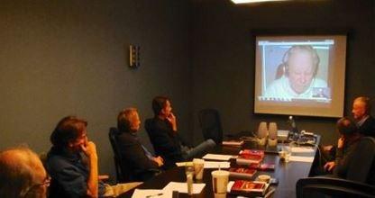 Conférence organisée à Saint-Louis par l'enquêteur américain David Marler Capture-45