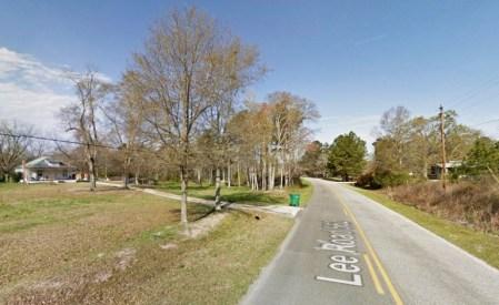 Le témoin était si terrifié par les événements de 1999, qu'il a gardé le compte de lui-même et tout récemment signalé l'incident à MUFON. Sur la photo: Lee County, Alabama. (Crédit: Google)