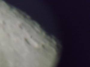 La lune capturée au T20 Crédit image: Matisse Sylvain