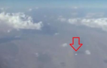 Capture d'écran d'une vidéo amateur sur laquelle apparaît un objet volant non identifié. - Capture d'écran/20Minutes