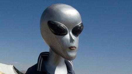 Ceci n'est sans doute pas un extraterrestre. REUTERS/Mariana Bazo