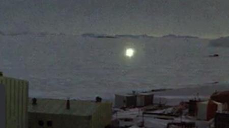 Quelle est la nature de cette orbe lumineuse ? [DR] source: directmatin.fr