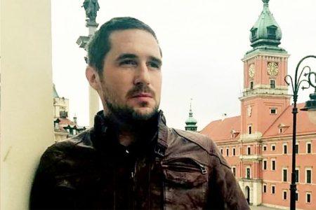 Max Spiers était en Pologne pour exposer ses théories lors d'une conférence.