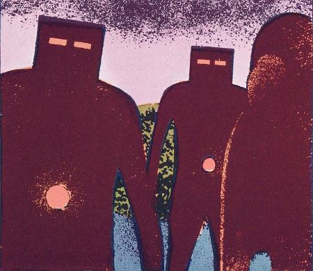 Robert Gigi. – « Extraterrestres géants en forme de robots », 1974 Robert Gigi - Agence martienne