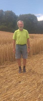 Marc Louat -crop circle